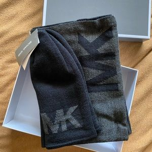 Brand New Michael Kors hat and scarf set